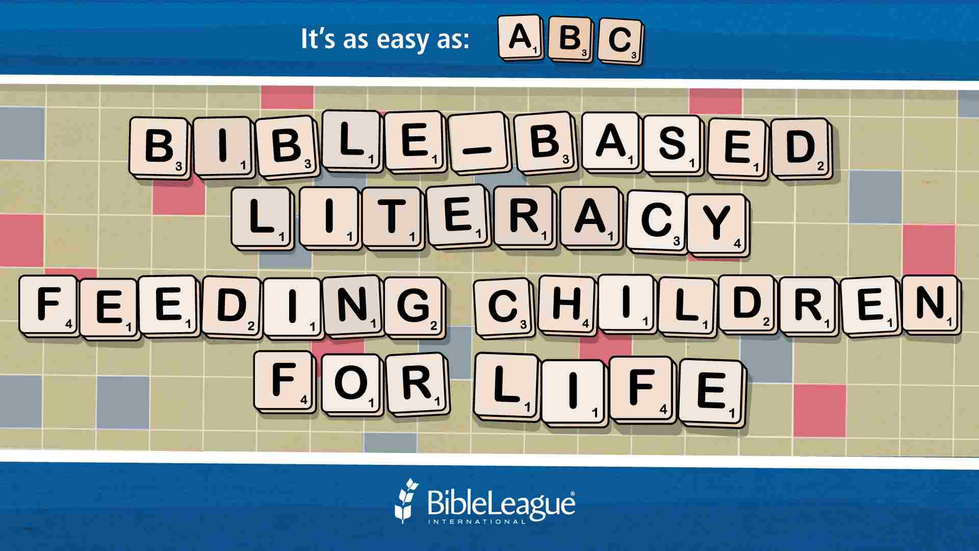 Teach a Child to Read and Write using Bible-Based Literacy