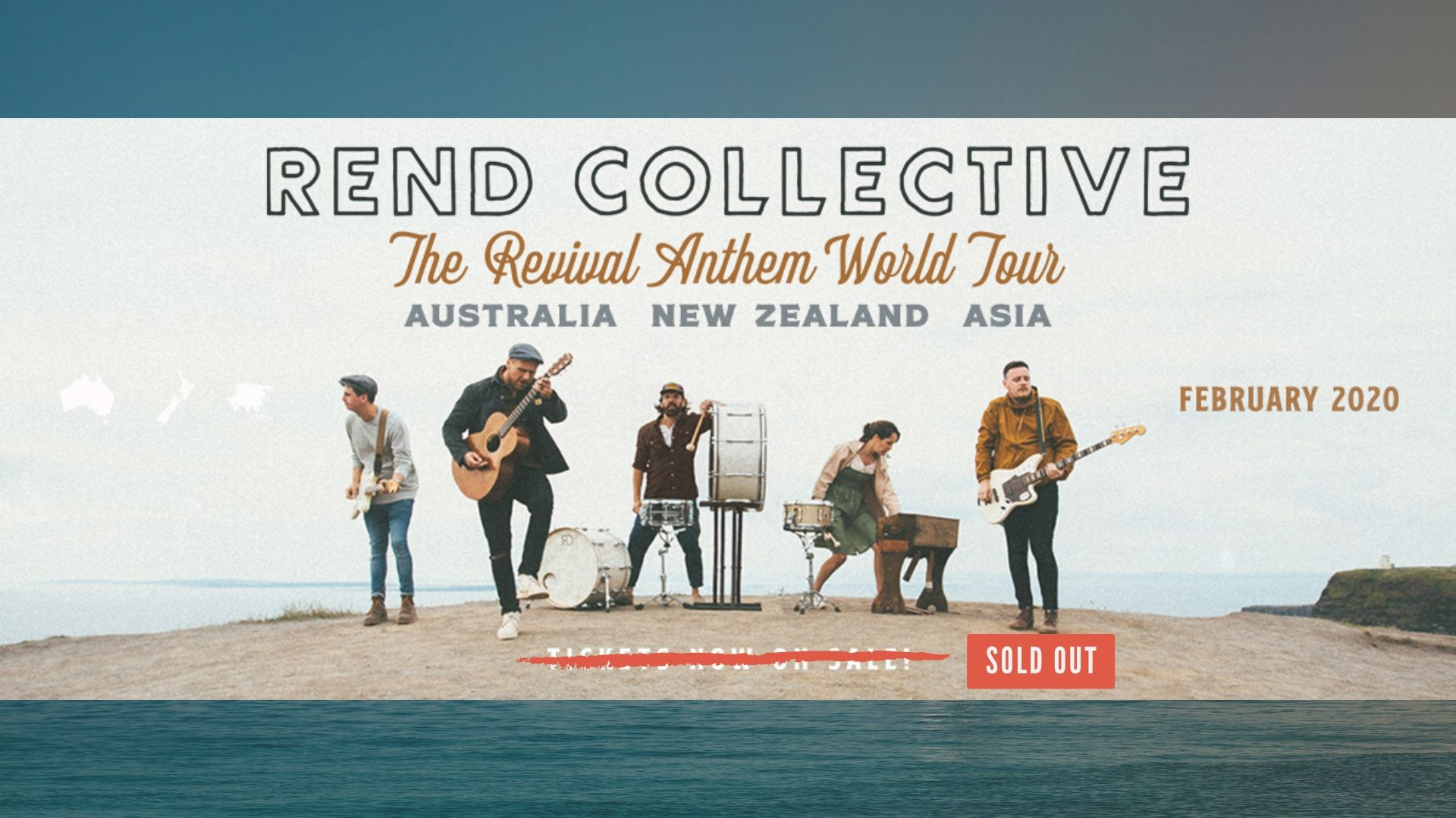 Rend Collective Australian Tour SOLD OUT!