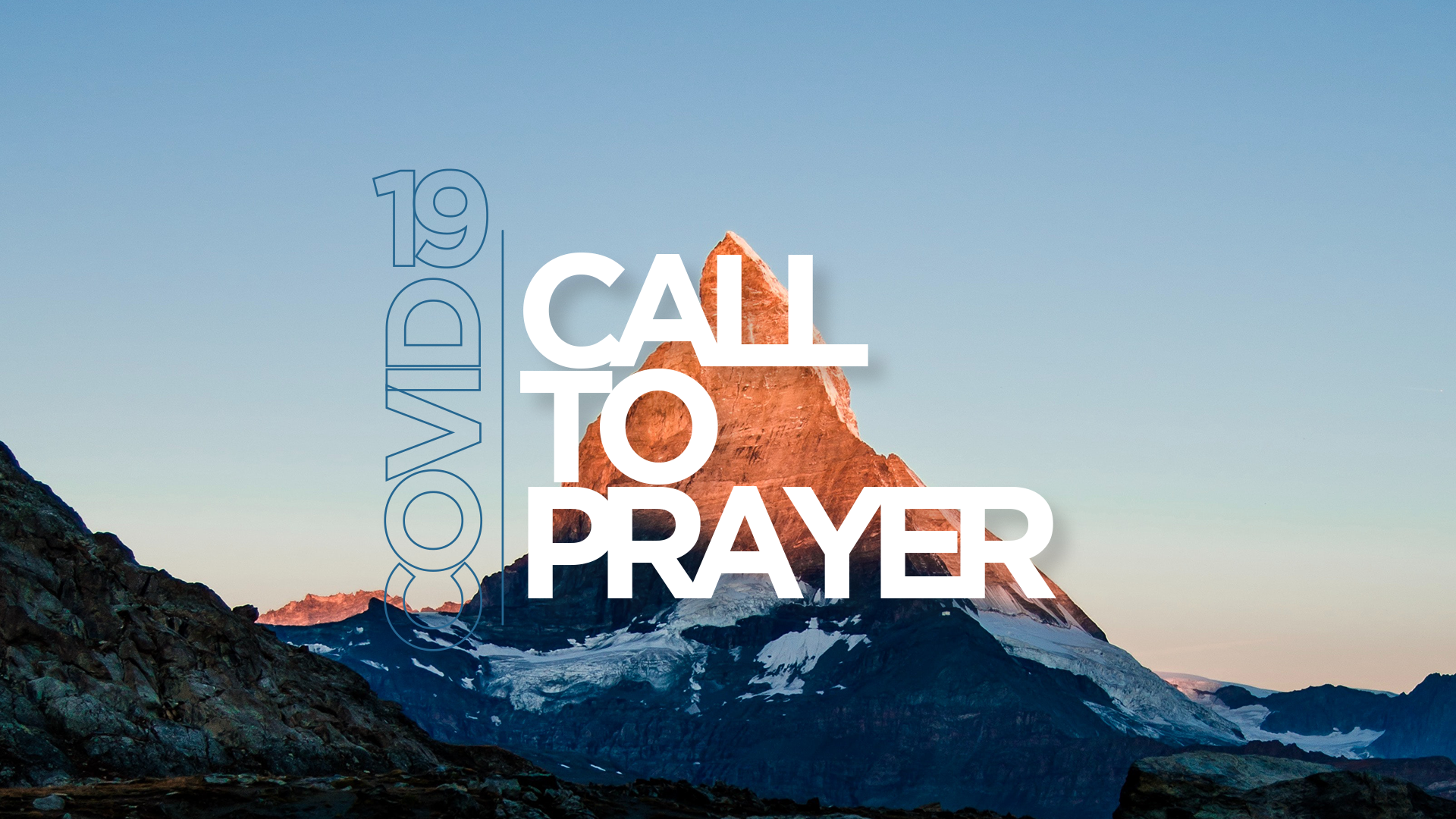 CMAA Launches Call to Prayer Website
